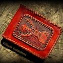 Aranyhal - örök pénztárca, Férfiaknak, Magyar motívumokkal, Hagyományőrző ajándékok, Horgászat, vadászat, Bőrművesség, A pénztárca hasznosságát kár ecsetelni, hiszen mindenki tudja, hogy szükséges használati tárgy, vis..., Meska