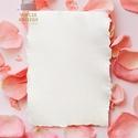 Kézzel merített papír, A4, rojtos, cakkos széllel, fehér és antik színben, dekorációs, hobbi és művészeti felhasználásra, Otthon & Lakás, Papírművészet, Valódi, kézzel merített papír egyenesen a fedémesi Papírmerítő Műhelyből. Az üres, fehér színű vagy..., Meska