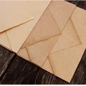 Antik A4 merített papír + boríték, TERMÉKLEÍRÁS - 1 csomag 12 db papírt tartalmaz...