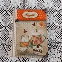 Receptfüzet vintage sütis képpel, Otthon & lakás, Dekoráció, Konyhafelszerelés, Receptfüzet, A képen látható különleges receptkönyv készleten van,de hasonlót egész évben folyamatosan rendelhets..., Meska