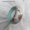 Tengeri fakarperec Vallejo sellőivel, Ékszer, Karkötő, Vintage képpekkel dekorált gyönyörű karperec coastal shabby stílusban, Vallejo sellőivel, a t..., Meska