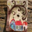 Szappantartó  az apró házak kedvelőinek. :), Otthon, lakberendezés, Szépségápolás, Fürdőszobai kellék, Szeretem az apró házikókat,bármilyen természetes anyagból készüljenek, meghitt,otthonos hangulatot t..., Meska