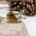 Kobold olvasó medál, Ékszer, óra, Medál, Nyaklánc, Gondosan kiválogatott alapanyagokból készült.  Izlandi és erdei moha felhasználásával készült ez a m..., Meska