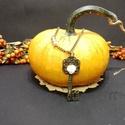 Csodaország kulcsa medál, Esküvő, Ékszer, óra, Medál, Nyaklánc, Medál mérete: 2,5x4,5 cm Lánc hossza: igény szerint (Az árat nem emeli), Meska