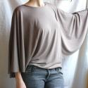 Pillangó szárny - női felső, Ruha, divat, cipő, Női ruha, Felsőrész, póló, Elegáns pillangó ujjú  póló választható színben. Csodálatos  viselet, egy alkalmi nadrágga..., Meska