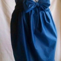 Miss Dior szoknya , Ruha, divat, cipő, Női ruha, Szoknya, Varrás, Egy romantikus, és extravagáns modell, ami minden nőből kihozza a hercegnőt! A kék pamutballonból r..., Meska
