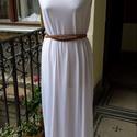 Görög nyár - maxi ruha, Ruha, divat, cipő, Női ruha, Ruha, Kellemes viszkóz anyagból készült könnyed nyári maxi ruha. Hőségben, munkahelyre, romantikus..., Meska