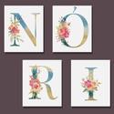 Királykisasszonyos betűk, névtábla kislányszobába, Romantikus és csillogó kisasszonyos feliratok. A...