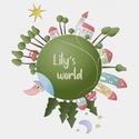 """Az én kis világom - kép gyerekszobába, Otthon, lakberendezés, Baba-mama-gyerek, Gyerekszoba, Baba falikép, Egy egész kis világ épületekkel, járművekkel, erdővel, tóval. A """"Lily's world"""" felirat csak minta, h..., Meska"""