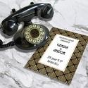Art Deco esküvői meghívó és szett, Esküvő, Naptár, képeslap, album, Meghívó, ültetőkártya, köszönőajándék, Képeslap, levélpapír, Art Deco esküvői meghívó és szett: Igazi Nagy Gatsby életérzés: arany és fekete art deco motívummal...., Meska