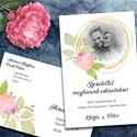 Fényképes esküvői meghívó különleges borítékban, Esküvő, Naptár, képeslap, album, Meghívó, ültetőkártya, köszönőajándék, Képeslap, levélpapír, Tegyétek egyedivé esküvői meghívótokat a saját fotótokkal! Bármelyik grafikámba belekomponálom a fén..., Meska