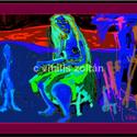 """"""" Lápiboszi """", Képzőművészet, Otthon, lakberendezés, Festmény, Festészet, Számítógépen készült festményem fotópapírra nyomva. Fa-kerettel, üvegezve, szignózva, sorszámozva,e..., Meska"""
