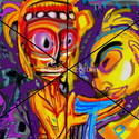 a varázsló, Dekoráció, Képzőművészet, Grafika, Rajz, Festészet, Fotó, grafika, rajz, illusztráció, Számítógépes festményem fotópapírra nyomtatva A/4- A/3 méretig.  A képet saját kezű aláírással küld..., Meska