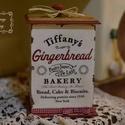 Nagy kekszes - kakós , csokis doboz , Konyhafelszerelés, Otthon, lakberendezés, Fűszertartó, Decoupage, transzfer és szalvétatechnika, Fából készült nosztalgia kekszes ( kakós, kávés, csokis) doboz. 19x14 cm -es méretű azonnal elvihet..., Meska