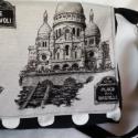 Párizs mindig jó ötlet...., Mindenmás, Táska, Válltáska, oldaltáska, Egy újabb párizsi táska, ezúttal a csodálatos szépségű Sacré-Coeur bazilika van a táska fedelén. Uta..., Meska