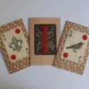 Vintage képeslapok, Dekoráció, Naptár, képeslap, album, Képeslap, levélpapír, Papírművészet, Egyszerű, natúr, visszafogott, vintage stílusú képpel díszített képeslapok. Méretük: 10 x 15 cm. Dí..., Meska