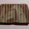 Nyolc után - mentás-csokis szappan, Szépségápolás, Szappan, tisztálkodószer, Natúrszappan, Növényi alapanyagú szappan, Szappankészítés, Ez a mentás csokoládé által ihletett szappan krémesen habzik, remekül tisztít és finom menta illato..., Meska