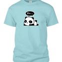Szundizós panda póló, Művészet, Grafika & Illusztráció, Mindenmás, Ajándékon gondolkodsz és még nincs fix ötleted? Ez az aranyos pandás póló remek ajándék bármilyen a..., Meska