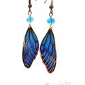 Wings - Dragonfly ajour zománc fülbevaló