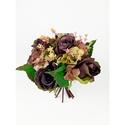 Antik barna tartós csokor  , Esküvő, Esküvői csokor, Virágkötés, Antik színű barna rózsákból és hortenziából készült ökörcsokor , mely örök emlék lehet egy fontos a..., Meska