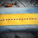 RENDELHETŐ! VIDÁM virágok- hímzett textilbőr és  farmer neszeszer, Táska, Divat & Szépség, Táska, Pénztárca, tok, tárca, Neszesszer, Vásárlás előtt belső üzenetben egyeztessünk!  AKCIÓ:   15.000 Ft feletti vásárlás esetén, a postaköl..., Meska