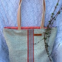 Zsákvászon-romantikus bevásárló táska , AKCIÓ:   15.000 Ft feletti vásárlás esetén, a...