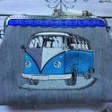 Volkswagen T1 retro autós fémkeretes- farmer  tárca., Táska, Divat & Szépség, Táska, Neszesszer, Pénztárca, tok, tárca, AKCIÓ:   15.000 Ft feletti vásárlás esetén, a postaköltséget én állom amennyiben FOX Post automatába..., Meska