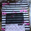 Flamingós öko zsák és szatyor /szettben/, AKCIÓ:   15.000 Ft feletti vásárlás esetén, a...