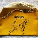 Beagle öko zsák-vastag hálós erős anyag, Táska, Divat & Szépség, NoWaste, Táska, Szatyor, AKCIÓ:   15.000 Ft feletti vásárlás esetén, a postaköltséget én állom amennyiben FOX Post automatába..., Meska