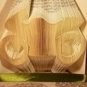 Motor mintájú hajtogatott könyv origami - motor szeretőknek - gyorsulási - sebesség - E144, Dekoráció, Otthon, lakberendezés, Dísz, Hajtogatott könyv vagy más néven könyv origami.   ****ALAP INFORMÁCIÓK**** A hajtogatott könyv ideál..., Meska