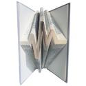 EKG könyvszobor, Szívdobbanás, Diplomaosztó, Orvosnak, Doktornak, Mindenmás, Dekoráció, Otthon, lakberendezés, Hangszer, zene, Hajtogatott könyv vagy más néven könyv origami.    ****ALAP INFORMÁCIÓK**** A hajtogatott könyv ideá..., Meska