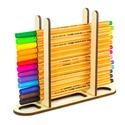 Ceruzatartó tolltartó fából, Színezéshez, Felnőttszínező szerelmeseinek, Gyerekeknek, filctartó, tanárnak, ballagásra, Gyerek & játék, Egyéb, Gyerekszoba, Tárolóeszköz - gyerekszobába, Szeretnél rendszerezett íróasztalt?  Szereted az átlagon felüli kiegészítőket az irodádban?  Ezzel a..., Meska