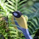 Beszúrós cinege, Dekoráció, Otthon, lakberendezés, Nagyon szeretjük a madarakat, kertünkben több madáretető is van. Az ablakból szoktuk figyelni, hogya..., Meska