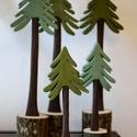 Erdei fenyő, Dekoráció, Otthon, lakberendezés, Amikor a fenyős asztaldekorunkra nézünk gyakran a fenyőerdők gyantás illata jut eszünkbe. Ilyenkor e..., Meska