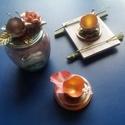 """""""Hatch"""" mécsestartó HÚSVÉTRA valódi tojáshéjból, Otthon & Lakás, Dekoráció, Asztaldísz, Újrahasznosított alapanyagból készült termékek, Festett tárgyak, Valódi tojáshéjból, selyemvirágok és befőttesüveg-tető felhasználásával készült egyedi hangulatú mé..., Meska"""