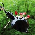 Amanita gomba hűtőmágnes szett (4db), Dekoráció, Otthon, lakberendezés, Konyhafelszerelés, Hűtőmágnes, Gyurma, Ezek a galóca gombák kiválóan alkalmasak fontos jegyzetek hűtőhöz való stabilizálásához.  A gombák ..., Meska