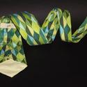 Peacock Leaves nyakkendő, Férfiaknak, Ing, Óra, ékszer, kiegészítő, Varrás, Robert Kaufman - Peacock Leaves fantázianevű dizájner pamutjából készült ez a nyakkendő.  Mondanom ..., Meska