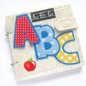 """ABC játszókönyv, interaktív készségfejlesztő Montessori játék, iskola előkészítő könyv, """"baba könyv"""", Játék, Baba-mama-gyerek, Készségfejlesztő játék, Gyerekszoba,  Gyermeked, unokád már érdeklődik a betűk iránt? Itt egy igazán hasznos és élvezetes ajándék ovisokn..., Meska"""