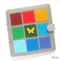 SZÍNES KÖNYV baba könyv/babakönyv, játszókönyv, babajáték, készségfejlesztő könyv, Montessori játék