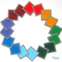 SZIVÁRVÁNY memóriajáték, készségfejlesztő játék, interaktív textil játék, Montessori játék, Játék, Baba-mama-gyerek, Baba játék, Készségfejlesztő játék, Fedezzük fel a színeket!   SZIVÁRVÁNY memóriajáték   Párosító  / mintakirakó / számoló játék / memór..., Meska