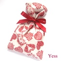 SZERETET - 4 db ajándékzsák szív mintával, Szerelmeseknek, Anyák napja, Táska, Pénztárca, tok, tárca, Patchwork, foltvarrás, Varrás,  Ajándékcsomagolás annak, akit nagyon szeretsz...  Ezek a romantikus stílusú ajándékzsákok jó tartá..., Meska