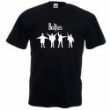 The Beatles mintás póló, Ruha, divat, cipő, Női ruha, Férfi ruha, Felsőrész, póló, BEATLES mintás póló  Bármilyen színű pólóra kérheted, nemcsak a képen látott színekben. ..., Meska
