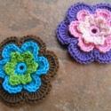 Virágok Krisztinek, Picur160 kérésére készítettem ezeket a virág...