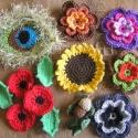 Mindenfélék FOGLALVA, Kalamar részére készítettem ezeket a virágoka...