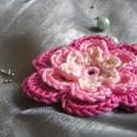 Rózsaszín horgolt virág, Légy kreatív!Használd kedved és ízlésed szer...