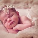 Újszülött fejpánt csipkemasnival, A képen látható újszülött masnis fejpántot ...
