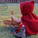 Horgolt piroska köpeny, Ebben a hirdetésben a képen látható horgolt pi...