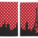 Párizs, Párizs!!!!, Ez a piros pöttyös anyag és Párizs egymásra t...