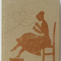 Titkos vágy - füzet bronzban, barnában, Ki ne vágyna rá, hogy szíve választottja minde...