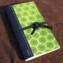 Zöld mintás notesz, Zöld mintás notesz teljes egészében eredeti, s...